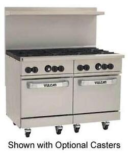 Vulcan 48ss 8b Endurance 48 Range With 8 Burners And 2 Bakery Depth Ovens