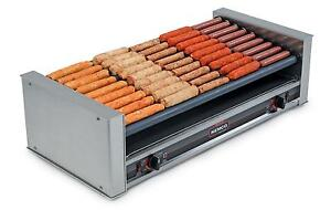 Nemco 8045w Wide Hot Dog Roller Grill 45 Hot Dogs