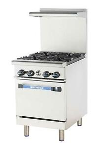 Radiance Tar 4 24 Restaurant Range With 4 Gas Burners