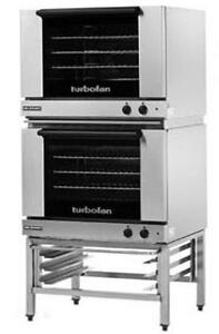 Moffat E28m4 2 Electric Dble Convection Oven Full Size 4 Pan W Fixed Stand