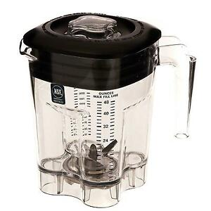 Waring Cac93x 48oz Bpa free Replacement Container For Mx Series Blender
