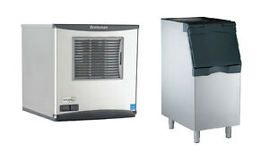 Scotsman Prodigy 420lb Nugget Ice Machine And 370lb 22in Bin Air Cool