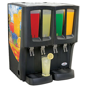 Gmcw C 4d 16 Crathco G cool Mini quattro 4 2 4 Gal Beverage Dispenser