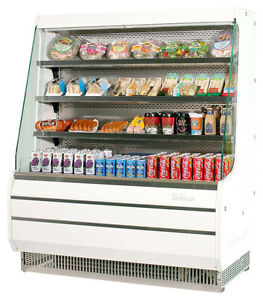Turbo Air 50 W Open Display Refrigerated Merchandiser Medium Height Tom 50m
