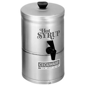 Gmcw Sd1 Stainless Steel Syrup Warmer Dispenser 1 Gal Capacity