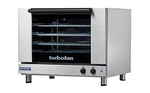 Moffat E28m4 Turbofan Electric Convection Oven Full Size 4 Pan Manual