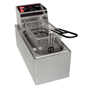 Gmcw El6 Electric Counter Top Deep Fryer 6lb Removable Tank