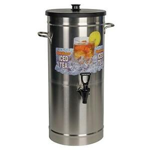 Bunn 33000 0023 Iced Tea Dispenser 3 5 Gallon Urn W Solid Lid