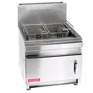 Gmcw Gf28 Cecilware Counter Top 28lb Gas Fryer