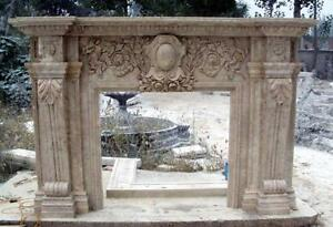 Marble Fireplace Mantel Surround French Renaissance Style