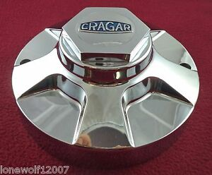 Cragar Wheels Chrome Custom Wheel Center Cap 1