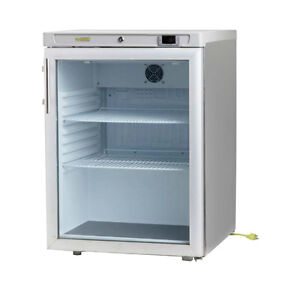 6 3cf Glass Door Undercounter Refrigerator