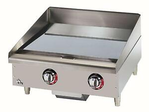 Star 524chsf Star max Countertop 24in Chrome Electric Griddle