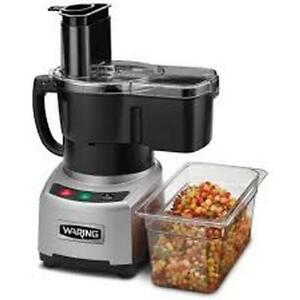 Waring Wfp16scd 4 Quart Continuous Feed Combination Food Processor 2 Hp 120v