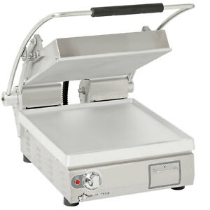Star Pst14t Pro max 14 Panini Grill Smooth Alum Plate Electronic Timer