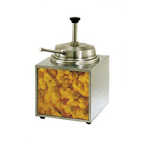 Star 3wla b 3 5 Qt Stainless Steel Countertop Butter Heated Dispenser