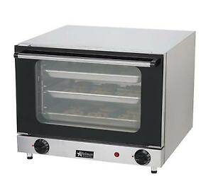 Star Ccoq 3 Countertop Holman Convection Oven Electric 3 1 4 Size Pan