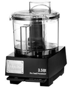 Waring Wfp14sw 3 5 Quart Food Processor With S blade And Whipping Disc