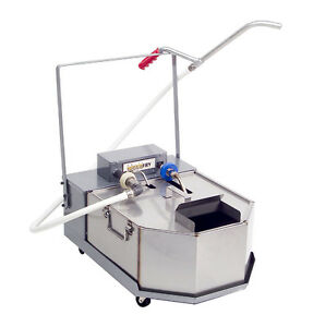 Anets Ffm150 Goldenfry 150lb Portable Fryer Filtration Unit With Casters