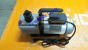 Dayton 2vky6 Refrigerant Evacuation Pump 9 0 Cfm 6 Ft Vacuum Air Conditioning