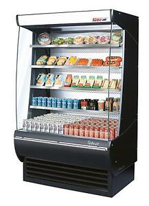 Turbo Air 36 Vertical Open Display Refrigerated Merchandiser Case Tom 36 dx
