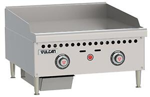 Vulcan Vcrg24 t Medium Duty 24 Snap Action Thermostatic Gas Griddle