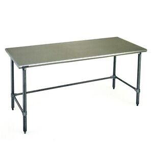 Eagle Group T3060steb Deluxe Work Table 60in X 30in Stainless Steel Work Top