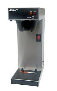 Adcraft Ub 289 Ss Single Airpot Coffee Brewer 3 8gal Hour Capacity
