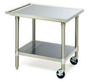 Eagle Group Met2430s Commercial Stainless 24 X 30 Mobile Equipment Stand