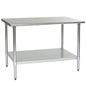 Eagle Group T3060se Spec Master Work Table 60in X 30in W Stainless Steel Top