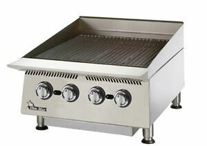 Star 8124rcbb Ultra max 24 Wide Countertop Radiant Gas Charbroiler