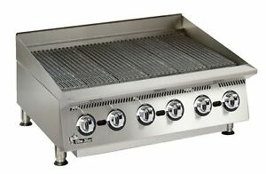 Star 8136rcbb Ultra max 36 Wide Countertop Radiant Gas Charbroiler