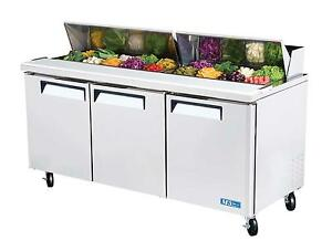 Turbo Air Mst 72 Sandwich Salad Prep Cooler 18 Pans 72