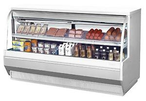 Turbo Air 72 5 Low Profile Refrigerated Curved Glass Deli Case Tcdd 72 2 l
