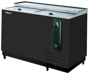 Turbo Air 50 Black Beer Bottle Bar Cooler Tbc 50sb