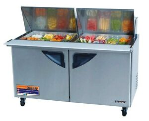 Turbo Air 60 Mega Top Sandwich Prep Cooler Tst 60sd 24