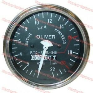 Tachometer Gauge For Oliver 550 Super 55 Super 66 100575 a 100577 a 101389 a