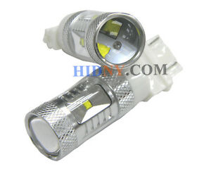 2x Of 30 Watt High Power Cree 3157 3057 Super Bright Led Light Bulbs White
