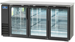 Arctic Air Abb72g 72 3 Glass Door Back Bar Cooler