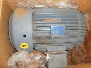 Pacemaker Electric Motor 3 Ph 30 Hp 286ts 3525 Rpm Severe Duty