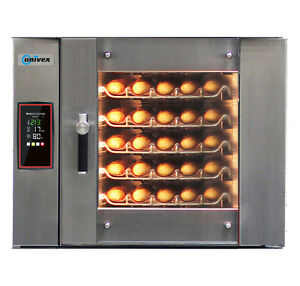 Univex Eco5000 Electric Bakery Convection Oven W 5 Tray Capacity
