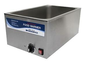 Radiance Rfw 20 Counter Top 22qt S s Electric Food Warmer 1200 Watt