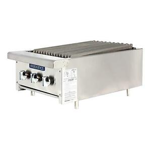 Radiance Tarb 18 18 Counter Top Radiant Gas Broiler 45 000 Btu
