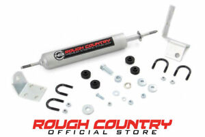 Rough Country Steering Stabilizer 0 3 inch Lifts 99 06 Chevy 1500