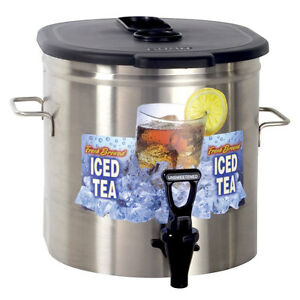 Bunn 37100 0000 Iced Tea Dispenser 3 5 Gallon Urn