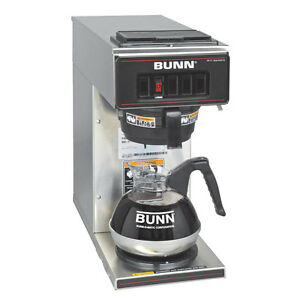 Bunn 13300 0001 Coffee Maker With 1 Warmer Low Profile Pourover S s Decor