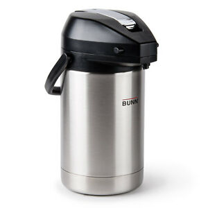 Bunn 32125 0000 Coffee Airpot Lever Action 2 5 Liter 84oz