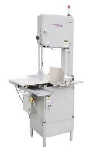 German Knife Gbs 450s 126 Stainless Meat Band Saw Floor Model 3 Hp