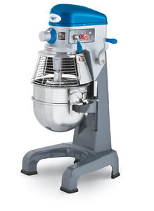 Vollrath 40758 30 Quart Commercial Dough Mixer W Hand Guard Attachments