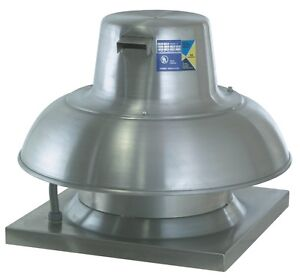 Captive aire Systems Inc Commercial High Speed Downblast Exhaust Fan 25hp